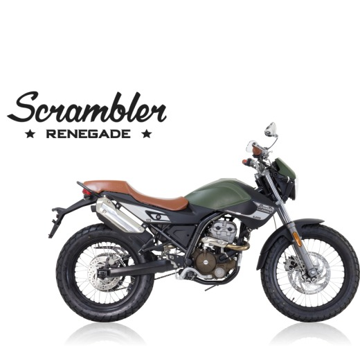 UM Renegade Scrambler Classic 125