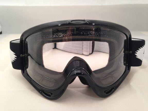 Oakley O Frame Goggles Jet Black/Clear
