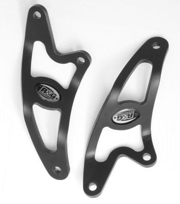 Exhaust Hanger Kit for Aprilia Tuono '06- (2pc)