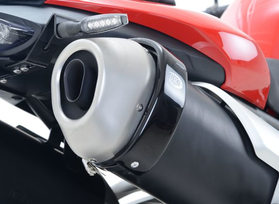 Hexagonal (Akrapovic Style) Exhaust Protector (Can Cover)