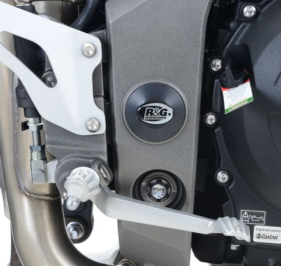 Frame Plug for the Triumph Speed Triple