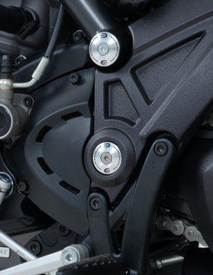 Frame Plug Kit for Ducati Diavel '11- and Diavel Strada '13-