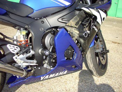 R&G Fork Protectors Yamaha YZF R6