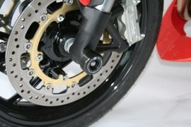 R&G Fork Protectors Triumph Speed Triple Tiger 1050