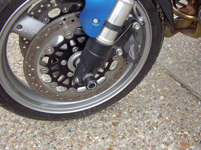 R&G Fork Protectors Triumph Speed Triple
