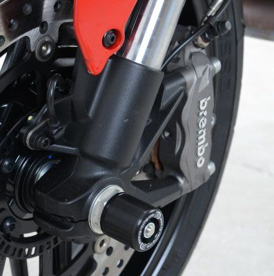R&G Fork Protectors(Small Bobbins) - Ducati Multistrada 1200 '10-, Monster 821, 1200 and 1200S '14-