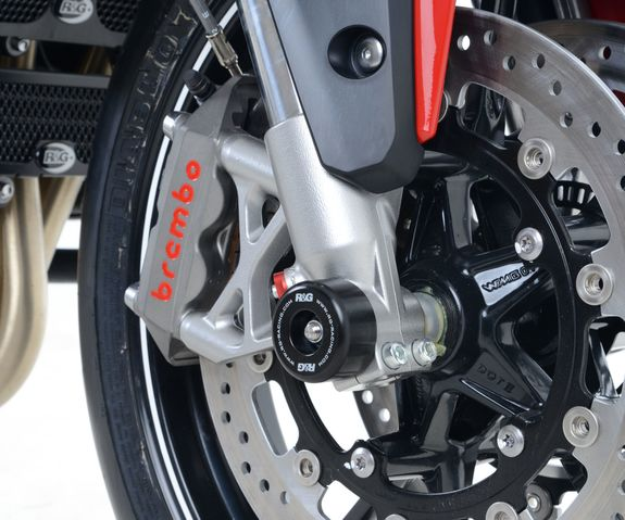 R&G Fork Protectors for Triumph Speed Triple '11-