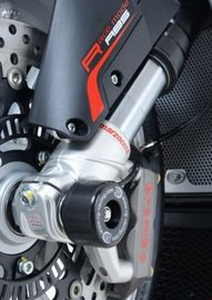 R&G Fork Protectors for MV Agusta F4 '10- (Marzocchi Forks ONLY)