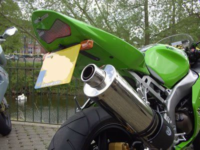 Tail Tidy for Kawasaki ZX6R ('03-'04), Z750 ('04-'0