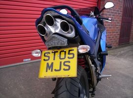 Tail Tidy for Triumph Sprint ST '05-'10