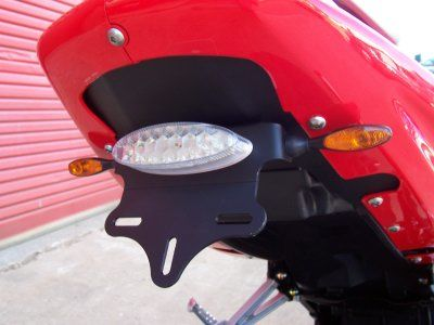Tail Tidy for Hyosung GT Models  (with R&G LEG Micro Indicators included)