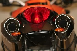 Tail Tidy for KTM 990 Super Duke (with R&G LEG Micro Indicators included)