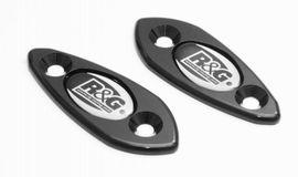 Mirror Blanking Plates - Kawasaki 2009/2010 ZX6