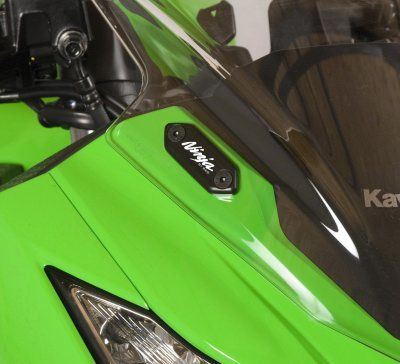 Mirror Blanking Plates for Kawasaki Ninja 300/250 '13- and ZX6R 636 '13-