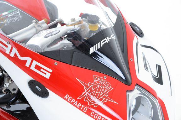 Mirror Blanking Plates for MV Agusta F3 675 ('12-) / F3 800 ('13-) / F4 ('10-)