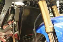 Radiator Guard for Suzuki GSX-R1000 K7-K8 ('07-'08)