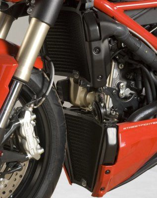 Radiator Guards (2piece) for Ducati 848 Streetfighter