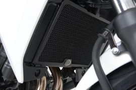 Radiator Guards for Honda CB500F and CB500X models.
