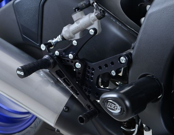 Adjustable Rearsets for Yamaha YZF-R6  ('06 onwards)