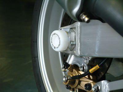 R&G Swingarm Protectors for Suzuki GSXR600, GSXR750 and GSXR1000 (K1-K5)