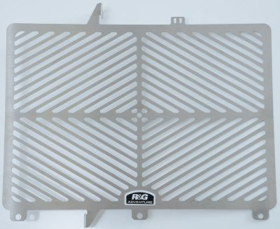 Stainless Steel Radiator Guard for Triumph Tiger 800 '11-