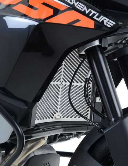 Stainless Steel Radiator Guard for KTM 1050/1190 Adventure '13- and 1290 Super Adventure '15-