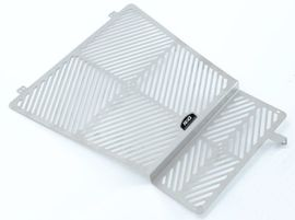 Stainless Steel Radiator and Oil Cooler Guard for Aprilia 1200 Caponord '13-