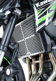 Stainless Steel Radiator Guard for for Kawasaki Z750'07-/Z750R/Z800/Z1000'10-/Z1000SX & VERSYS1000