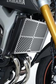 Stainless Steel Radiator Guard for Yamaha MT-09, MT-09 Tracer and XSR900 models