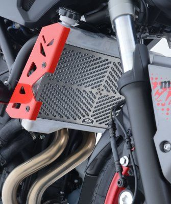 Stainless Steel Radiator Guard for Yamaha MT07 '14-, MT-07 Motocage '15-, XSR700 '16- and Tracer 700 '16- models