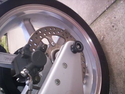 Spindle Sliders Buell XB9 XB12