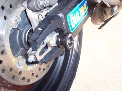 Spindle Sliders Honda CBR600