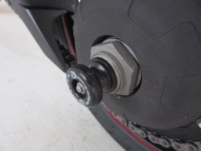 Spindle Sliders for Triumph Tiger 1050 Sport '13-