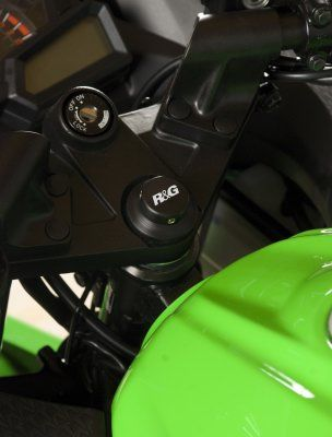 Top Yoke Plug for Kawasaki Ninja 300 ('13-) and Ninja 250 ('08-)