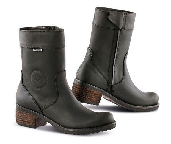 FALCO AYDA Ladies Motorcycle Boots BLACK