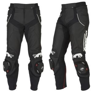 FURYGAN  RAPTOR LEATHER TROUSERS BLK/WHT