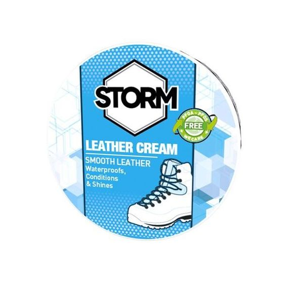 STORM LEATHER CREAM BLACK