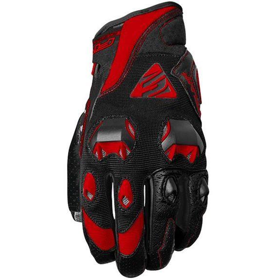 Five Stunt Evo Gloves black/red Size medium