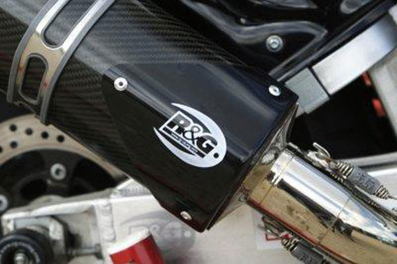 Tri Oval Exhaust Protector (Can Cover)