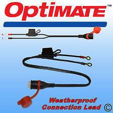 Optimate Accumate Weatherproof Permanent Eyelet Battery Lead TM71