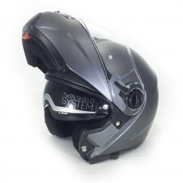 LS2 FF325 Strobe Flip Front Helmet Titanium