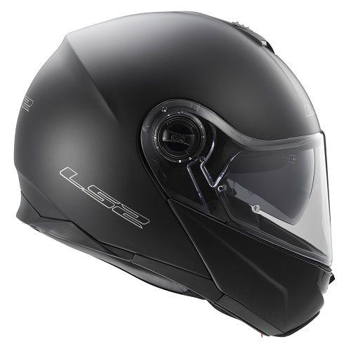 LS2 FF325 Strobe Flip Front Helmet Matt Black