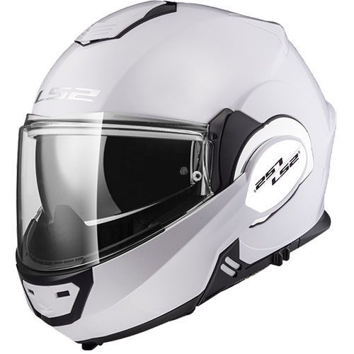 LS2 FF399 Valiant Motorcycle Helmet White