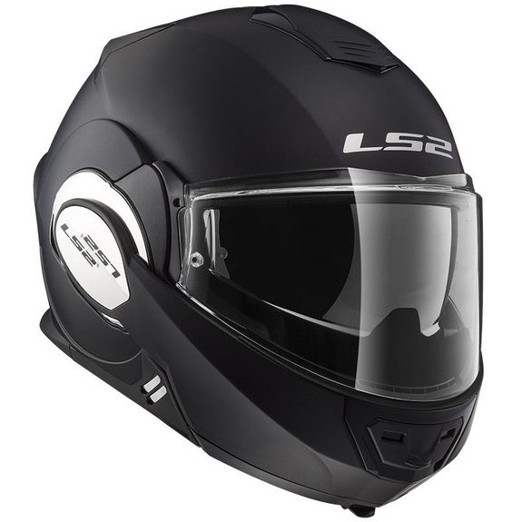 LS2 FF399 Valiant Motorcycle Helmet Matt Black