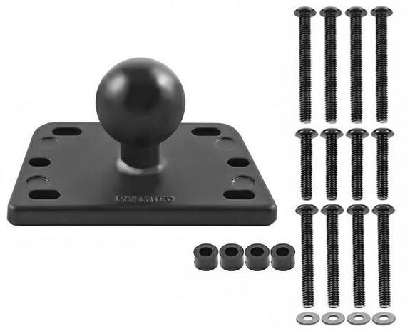 "Ram RES COVER BASE 1"" BALL CENTRE"