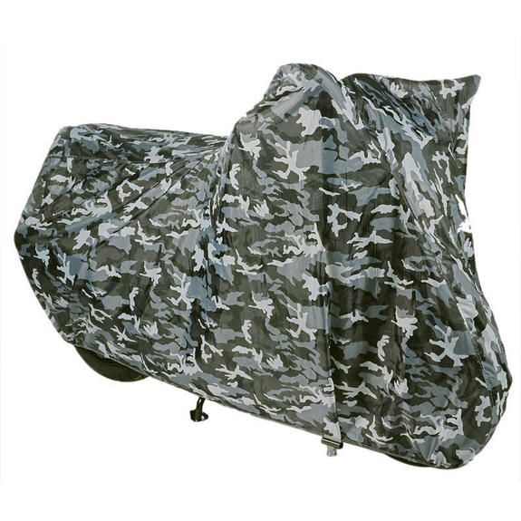 Oxford Aquatex Essential Camo Motorcycle Cover - Large