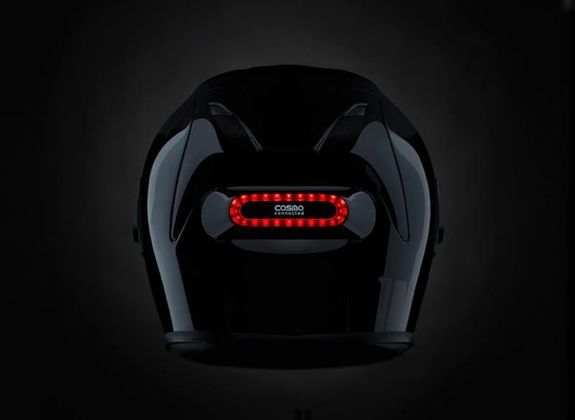 Cosmo Moto Helmet Brake Light System