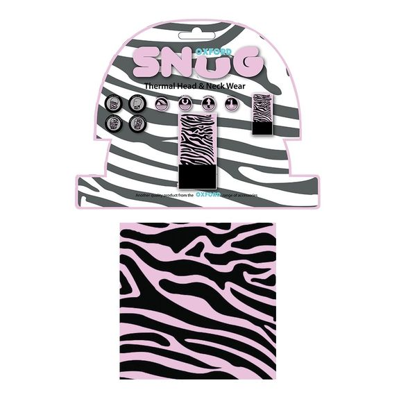 Oxford Snug - Pink Zebra
