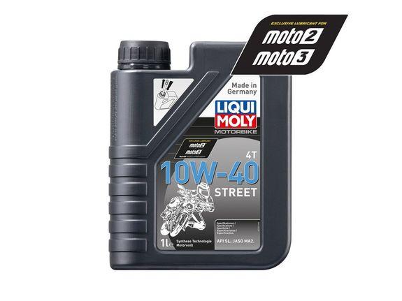 Liqui Moly - Oil 4-Stroke - Semi Synth - Street - 10W-40 - 1L