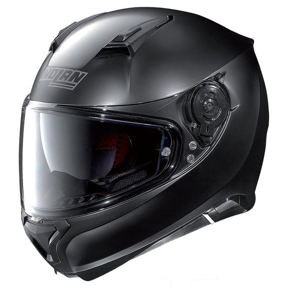 Nolan N87 Classic N-Com Flat Black Helmet